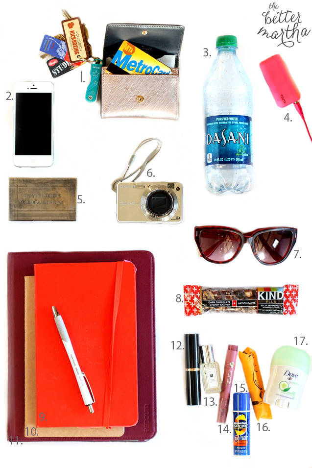 Items In My Bag