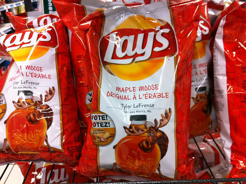 Maple moose chips