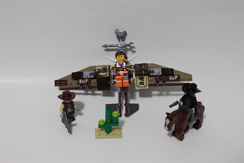 The LEGO Movie Getaway Glider (70800)