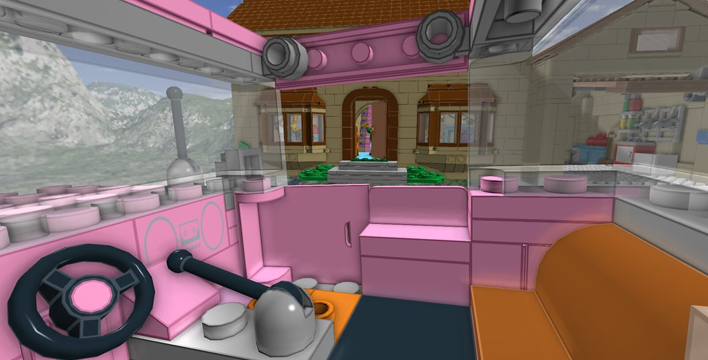 design the simpsons house game