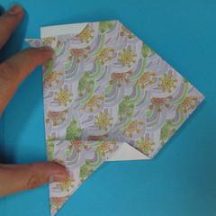 สอนวิธีพับกระดาษเป็นช้าง (แบบของ Fumiaki Kawahata) 030