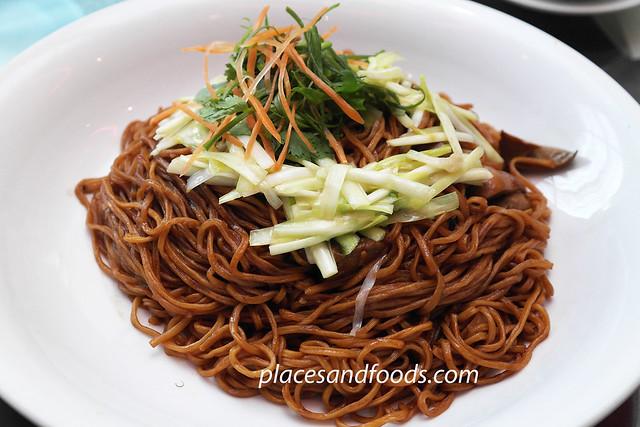 cny longevity noodle