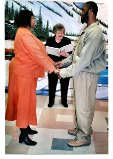 Officiating My First Prison Wedding - 12/29/09
