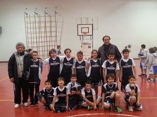 La squadra nera dell'Olympia Club Rutigliano (2)