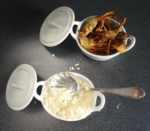 CACIO e Carciofi fritti