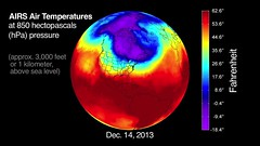 NASA's AIRS Sees Polar Vortex Behind U.S. Big Chill (narrated)