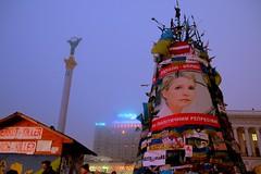 Ukrainian opposition leader Yulia Timoshenko freed and on independence square saturday 22 February