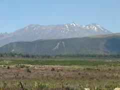 Volcanoes in National Park in New Zealand. This is Mount Ngauruhoe.