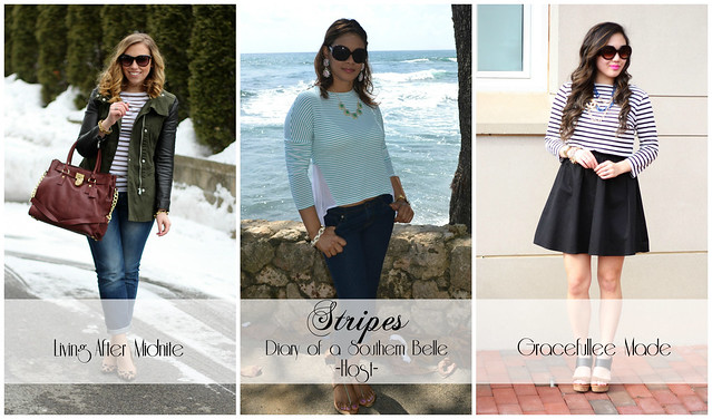 3 Ways to Wear Stripes + a Giveaway on Living After Midnite