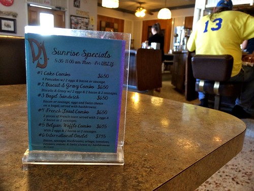 DJ's Coffee Shop San Bernardino CA - Breakfast Specials
