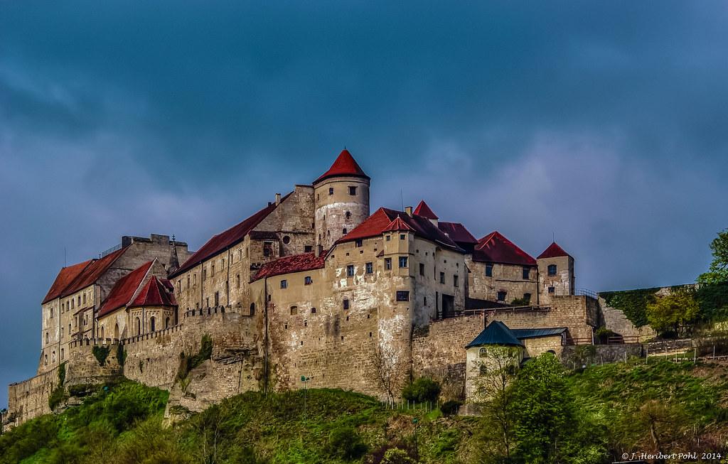 Burghausen, Kernburg der Burganlage