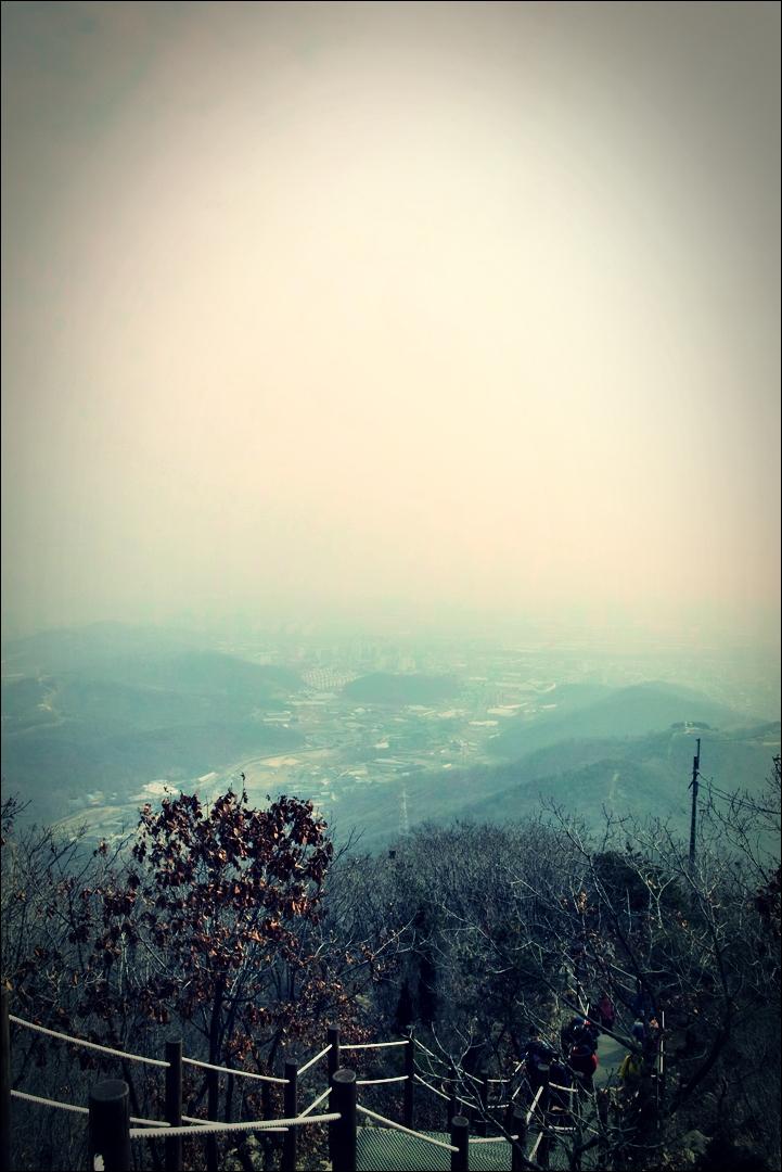 내려오는 길-'인천 계양산'