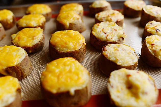 Twice Baked Potato Slices