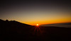 Haleakala Volcano Sunset by Cathy Donohoue