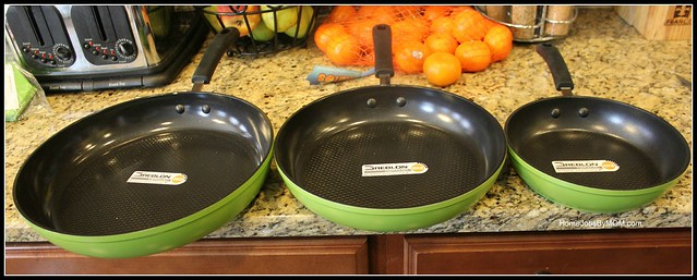 3-Piece Ozeri Green Earth Frying Pan Set