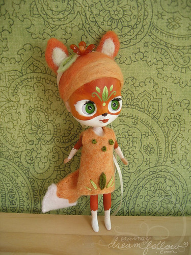 Marigold the fox girl