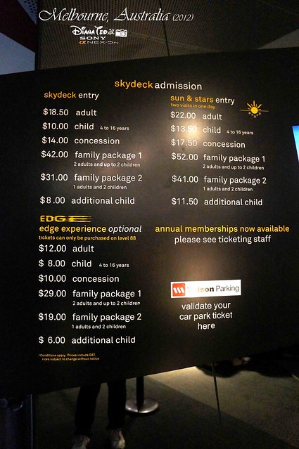 Day 2 Melbourne, Australia - Eureka Skydeck 01-2