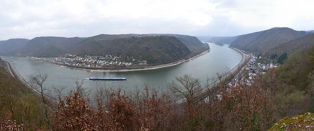 Rhein-Burgen Weg Bad Salzig - St