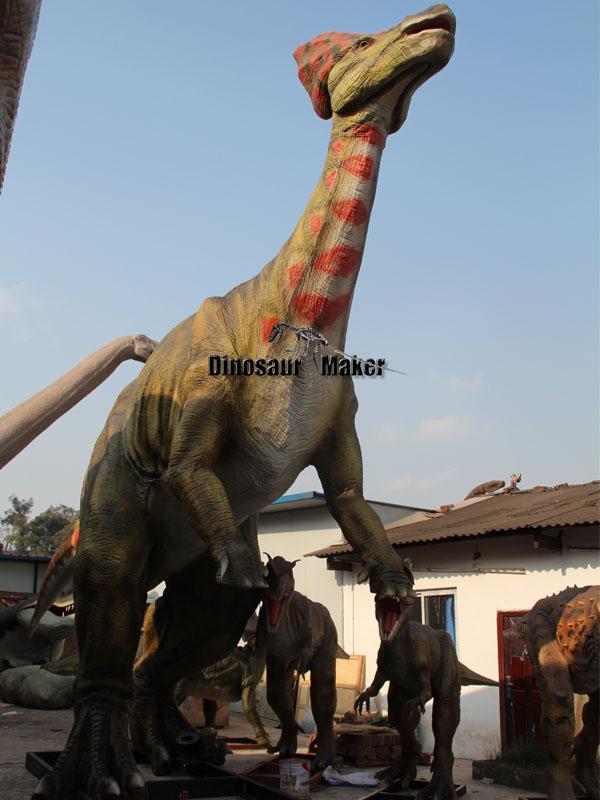 Install Large Dinosaur Model