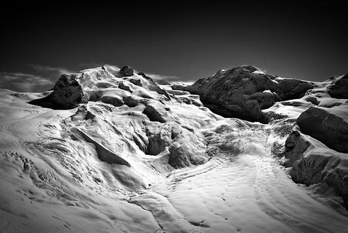 winter bw mountain snow alps monochrome montagne landscape schweiz switzerland blackwhite nikon suisse hiver zermatt nikkor wallis valais noirblanc d800 isanybodyoutthere