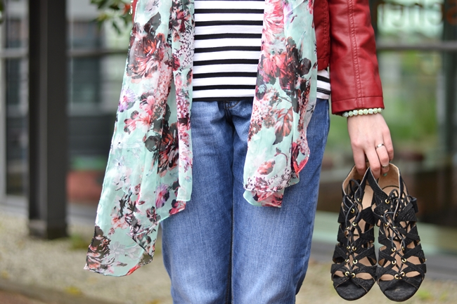 Outfit rote Lederjacke (6)