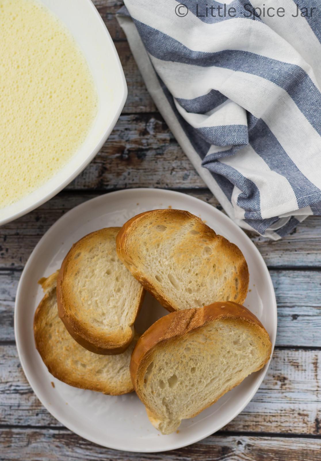 Crème Brûlée French Toast Stack Custard + Bread