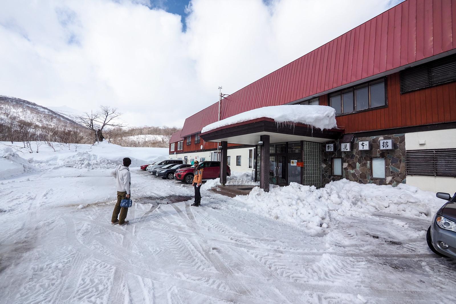 Mt. Mekunnai-dake ski touring (Hokkaido, Japan)