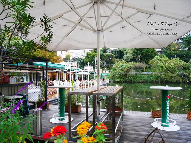 日本東京自由行賞櫻canal cafe水上餐廳 (19)