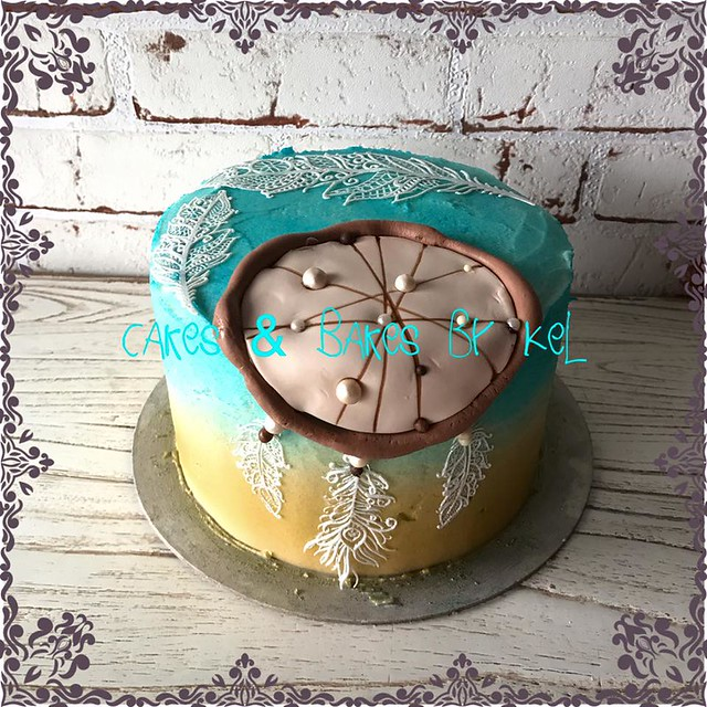 Dreamcatcher Cake from Cakes & Bakes by Kel