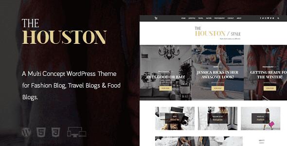 Houston WordPress Theme free download