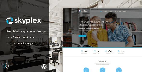 Skyplex WordPress Theme free download