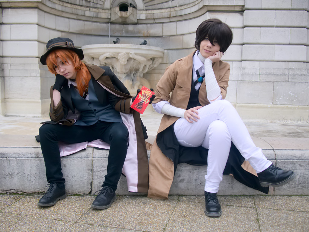 related image - Shooting Bungou Stray Dogs - Paris -2017-03-20- P2020831