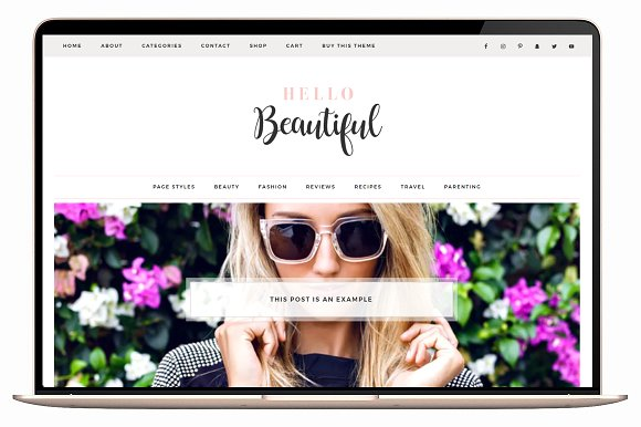 Hello Beautiful v2.2.4 - Wordpress Theme Ecommerce