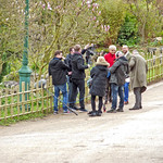 Filming in Avenham Park today
