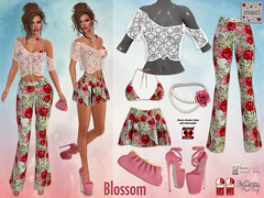 Maci ~ Blossom Outfit (Exclusive for SOS Event)