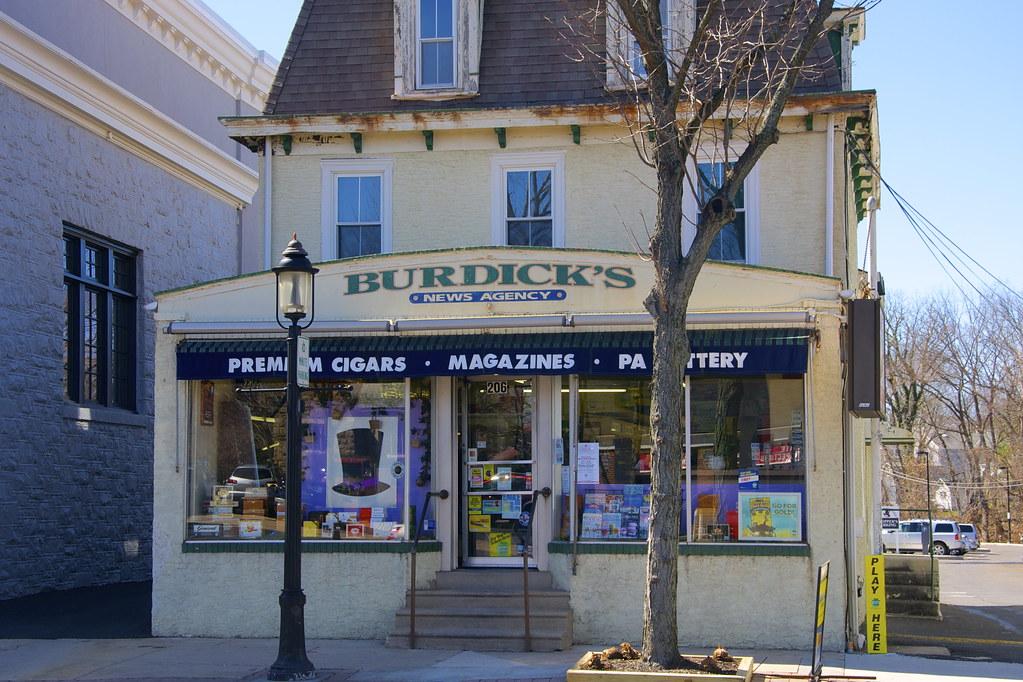 Burdick's Hatboro News Agency - Hatboro PA - Retro Roadmap
