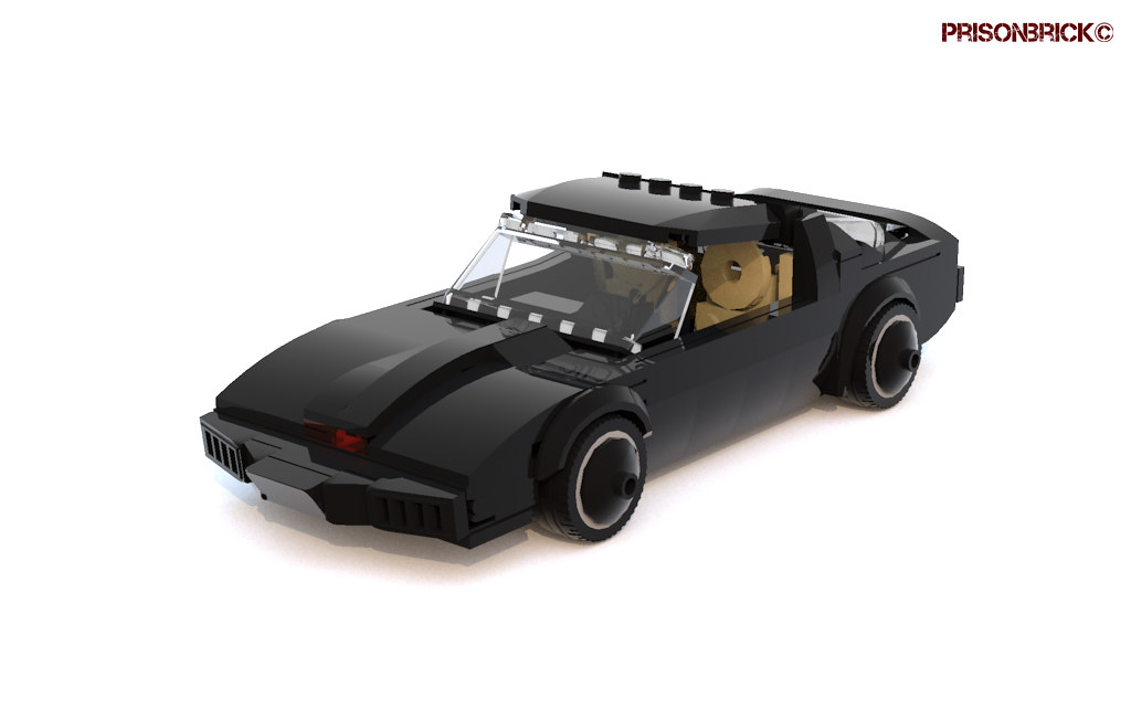 Knight Rider - K.I.T.T. Knight Industries Two Thousand 01