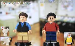 Custom Lego Friends Chandler Bing Joey Tribbiani Flickr