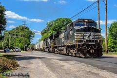 NS 9529   GE C44-9W   NS Memphis District
