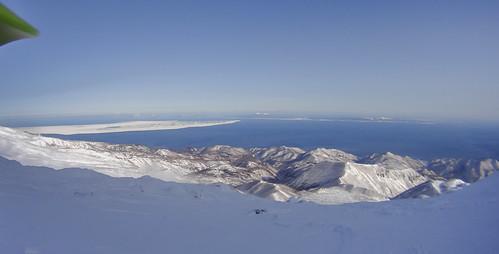 japan shiretoko winter 2016 ski touring hokkaido actioncam rausudake