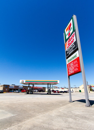 canon7d canoneos7d landscape lewisville texas 7eleven forecourt gasstation petrolstation
