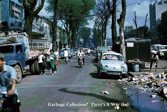 Saigon_Street 1970 - Đường Nguyễn Huệ