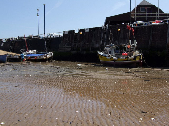 The harbour at Broadstairs