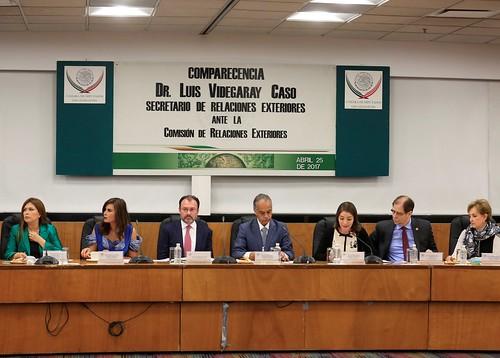 Comisión de Relaciones Exteriores 25/abr/17