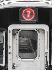 7 Subway Close Up; Willets Point, New York