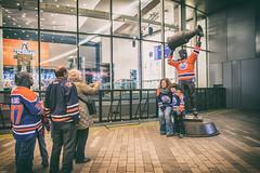 Edmonton Oilers 2017 Playoff Scene
