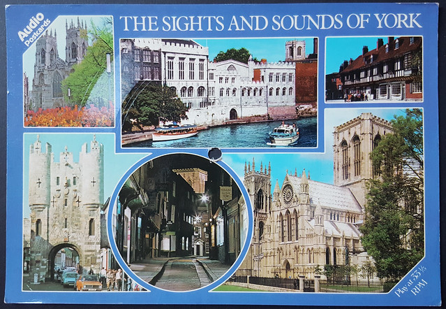 Radiotracks Ltd Audio Postcard - The Sights and Sounds of York