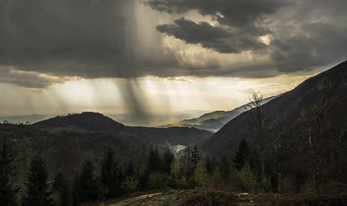 hillsmountains kamniškosavinjskealpe storm panorama clouds