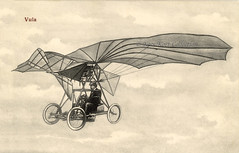 The Airplane-Automobile No.1 of the Rumanian Traian Vuia who worked in Paris [Rumania - France, 1906]