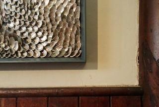 Shell art by Blott Kerr-Wilson at Norfolk by Design's Houghton Hall exhibition